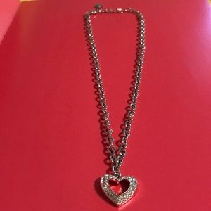 Swarovski Crystal Heart ❤️ Chain Necklace
